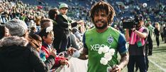 CONCACAF names Seattle Sounders defender Román Torres to 2017 Best XI Houston Dynamo, Mls Cup, Christian Pulisic, Best Defense, Seattle Sounders, Yesterday And Today, Fifa World Cup, Roman, Champion