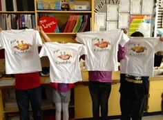 Crabby T-shirts celebrate students' math fact fluency