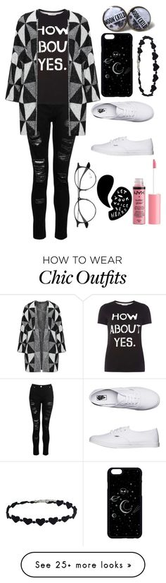 """""""How I'm Gonna Look when I ask her out♡"""" by wishybone on Polyvore featuring Dorothy Perkins, Vans, Charlotte Russe and Ray-Ban"""