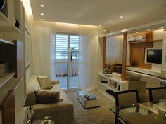 Sala de Estar Ampliada empreendimento Way Bandeirantes Residencial #RJ / Way Bandeirantes Residencial Extended Living Room
