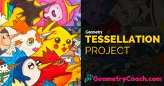 This tessellation project was designed for middle and high school geometry classes. The tessellation project is a lesson that should not be skipped.