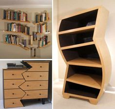 What do you think of these custom curved #furniture?