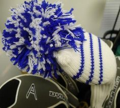 Headcovers made from recycled bottles.