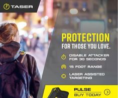 TASER: the most effective way to protect your family at home