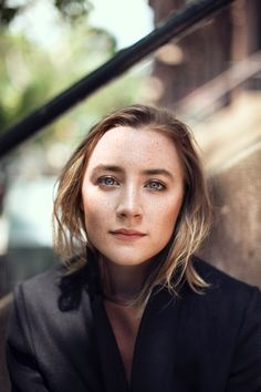 Saoirse Ronan, by Rich Gilligan for Cara