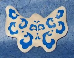 Asia: Japanese Porcelain Butterfly - Hands On Crafts for Kids