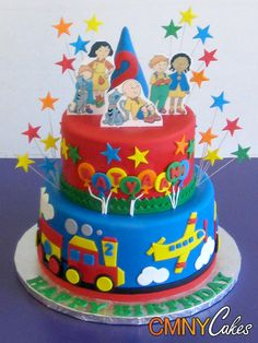 Incredible 31 Best Caillou Cakes Images Caillou Cake Caillou Cake Funny Birthday Cards Online Elaedamsfinfo