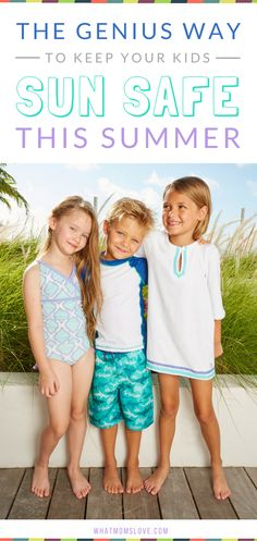 Sun Safety Tips for Kids   How to keep your kids safe this summer and prevent harmful burns!   Stylish UV Protective Swim Wear and Clothing for Adults and Children   Interview with skin cancer survivor and founder of Cabana Life