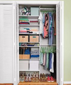 31 Ways to Make Over Your Closets | Closets can be the bane of your existence. Steal some ideas from those pictured here.