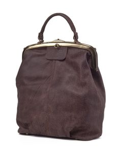 Ash Brown Leather Tote Bag / Cross Body by EllenRubenBagsShoes, $429.00
