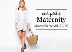 {Project Nursery Picks} Maternity Summer Wardrobe - #maternity #style