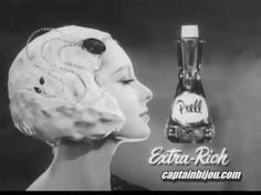 PRELL SHAMPOO COMMERCIAL 1950s