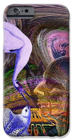 Climate Change IPhone 6s Case featuring the digital art Solar Whisper Winds Of Change by Joseph Mosley