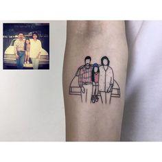 #tattoo #tatuagem #tatuaje #tatouage #dövme #tattooartist #galata #nyc #istanbul #newyork #newyorkcity #brooklyn #willamsburg #illustration #photography #likes #tattoooftheday #minimalism #minimaltattoo #minimaltattoos #smalltattoo #tattooartist #littletattoo #retrominimal #thinline #linetattoo #simpletattoo #fineline #pigmentninja