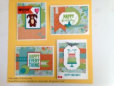Let's Give 'em Something to Scrap About!: CTMH-- Blossom Cards for June 13th Card Class