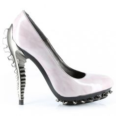 This looks like something I would wear. Hehe, you know, to see who'd get the joke.  http://offbeatbride.com/2011/10/skeleton-shoes