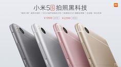 Xiaomi revela novos Mi 5s e Mi 5s Plus