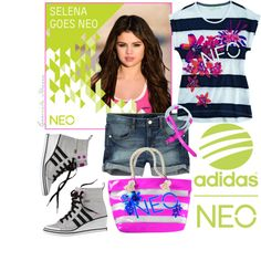 """Go Neo with Selena"" by grachy on Polyvore"