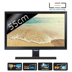 SAMSUNG T22D390EW Moniteur TV Full HD TNT HD 55cm pas cher - Les Bons Plans de PetitBuzz ❤