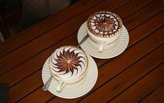 For those who are unaware of it, Its making fancy coffee in various styles by using espresso, milk and chocolate topping.