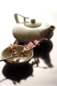 **Japanese teapot and teacup