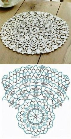 Patterns and motifs: Crocheted motif no.A rhombus crochet and other ideas for inspiration. Crochet Doily Diagram, Crochet Doily Patterns, Crochet Chart, Thread Crochet, Crochet Motif, Crochet Stitches, Filet Crochet, Crochet Snood, Tatting Patterns