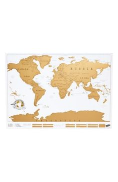 $26 Free shipping and returns on Luckies of London Scratch Map at Nordstrom.com. Mark your territory with a fun world map coated with scratch-off gold foil to help you keep track of where you've been (and plan trips to places you've yet to visit).