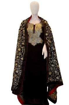 You Need to Do About Zari Tilla Embroidery Beginning in the Next Nine Minutes - Churidar, Anarkali, Lehenga, Salwar Kameez, Indian Designer Outfits, Designer Dresses, Kashmiri Suits, Embroidery Suits, Dress Suits
