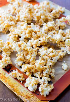 Peanut Butter Caramel Corn. This stuff is SO easy to make. (and easier to eat.)