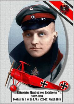 German Ace, The Red Baron, 80 Kills