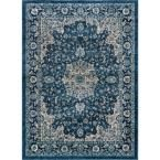 Journey Navy (Blue) 7 ft. 10 in. x 10 ft. 3 in. Area Rug