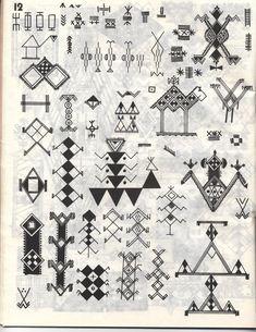 Motifs De Tatouages Berberes Motif Berbere Drapeau Kabylie Un Picture picture