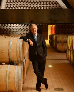 Piero Antinori in his family's newest cellar