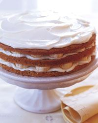 Banana Layer Cake with Mascarpone Frosting Recipe on Food & Wine Mascarpone is an Italian cheese that's superrich, delicate and creamy. Here, it's simply blended with confectioners' sugar to create a sublime, snow-white frosting. For the best results, try to buy mascarpone that's very fresh.