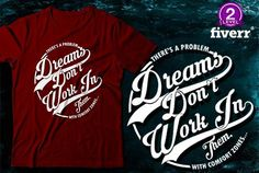 do retro style typography tshirt design