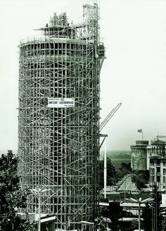 OTE tower under construction Greece History, Old Greek, Thessaloniki, Under Construction, Skyscraper, Beautiful Places, Places To Visit, Multi Story Building, Tower