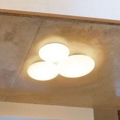 "Vibia Puck 3 Light Flush Mount Bulb Type: Halogen Bulb, Size: 22.5"" H x 19.75"" W x 4.25"" D"