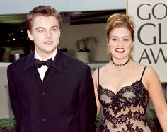 Leonardo DiCaprio and Kate Winslet — 1998   This Is What The Golden Globes Looked Like In The '90s