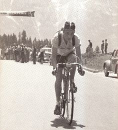 ....Charly Gaul on Grossglockner 1951