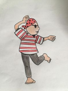 bewegingskaart piraat