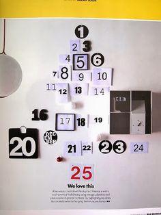 Miluccia ◆: Quelques idées de calendriers de l'avent.