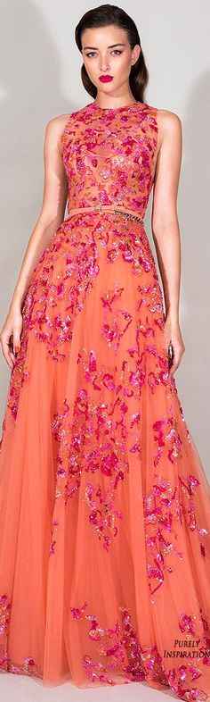 Zuhair Murad Resort 2016 Women's Fashion dress @roressclothes closet ideas women fashion outfit clothing style