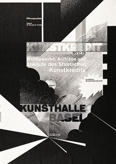 Wolfgang Weingart Kunstkredit Kunsthalle Basel