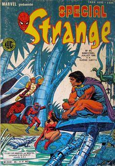 Couverture de Spécial Strange -45- Spécial Strange 1986