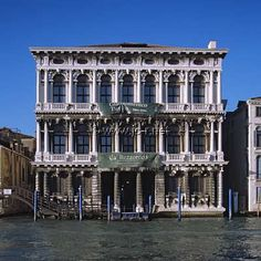 Venice: Ca'Rezzonico - once owned by the poet Robert Browning, it is now a museum.