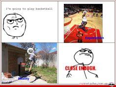 Basketball - - Rage Comics - Ragestache