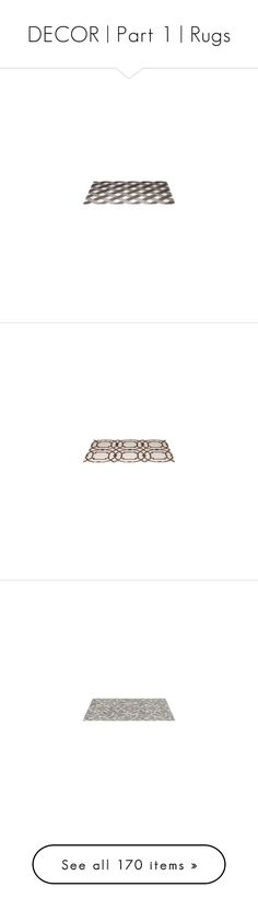"""""""DECOR   Part 1   Rugs"""" by annmaira ❤ liked on Polyvore featuring home, rugs, flooring, carpet, floors, tapetes, tappeti, beige, cream rug and geometric rug"""