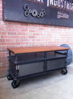Ellis Short Shelf by Vintage Industrial Furniture