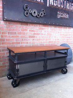 Ellis Short Shelf by Vintage Industrial Furniture