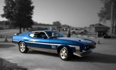 1972 Ford Mustang Mach I Maintenance of old vehicles: the material for new cogs/casters/gears/pads could be cast polyamide which I (Cast polyamide) can produce